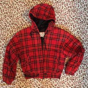 Wilson's Red Suede Jacket